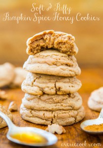 pumpkin-spice-honey-cookies