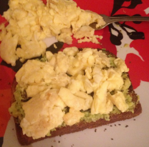 1-22 Egg, Avocado Toast