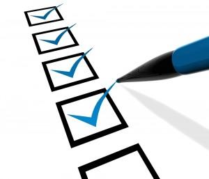 1-30 checklist