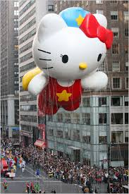 Thanksgiving Break parade
