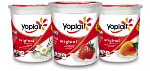 healthy foods - flavored yogurt