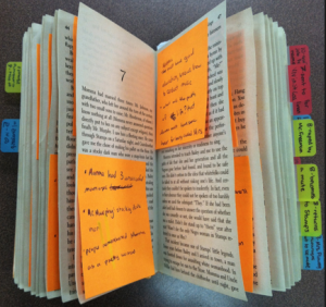 Use sticky notes to write down notes