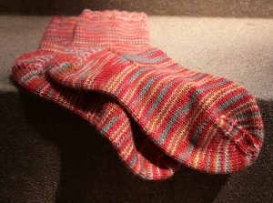 winter weather - spare pair socks